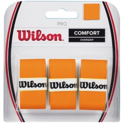 Overgrip tennis WILSON PRO OVERGRIP BURN arancio
