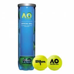 Palle tennis WILSON AUSTRALIAN OPEN tubo da 4