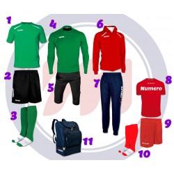 KIT Scuola Calcio INDOOR MEDIUM 11 pezzi