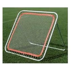 Telaio con rete in ferro zincato per allenamento portieri e giocatori