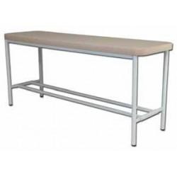 Tavolo per massaggi in acciaio imbottito