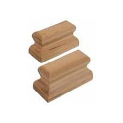 Coppia appoggi Bauman in legno