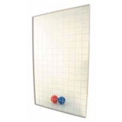Specchio quadrettato da parete